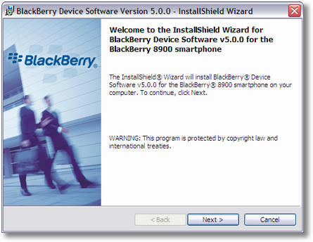 Upgrade Blackberry OS 5.0.0.509