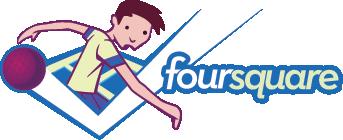 foursquare logo boy