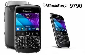 BlackBerry Onyx 3 Bellagio 9790 design