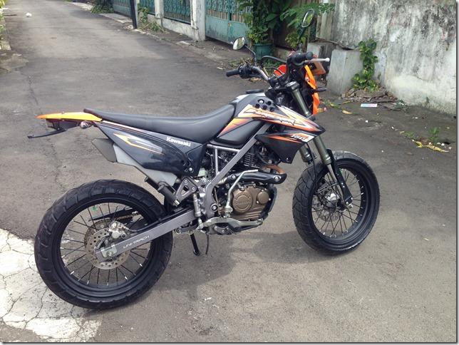 Kawasaki DT 150 Supermoto