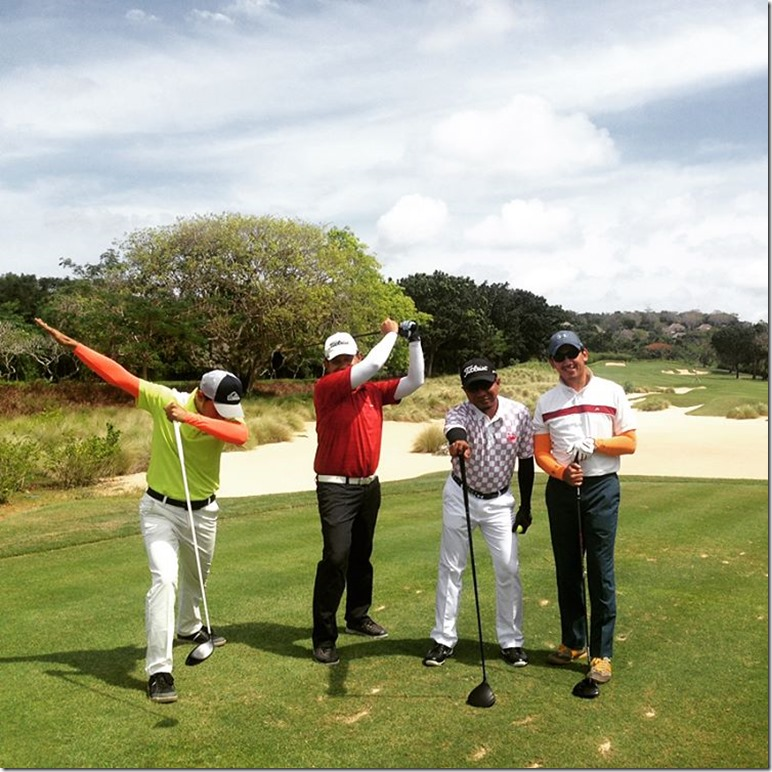 Golf at nusa dua 2nd
